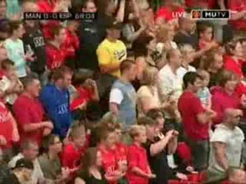 Manchester United 1 - 0 Espanyol :: Ole Gunnar Solskjaer testimonial match