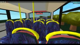 Roblox london & Dock bus Simulator Wright Gemini 2 Go Ahead London Docklands Buses Route 135