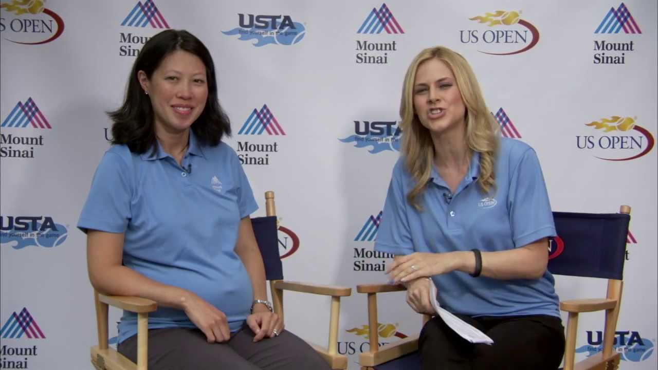 Dr. Alexis Colvin Demystifies Common Tennis Health Myths at the US Open