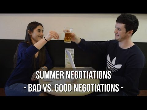 SUMMER NEGOTIATIONS: CROSS-CULTURAL NEGOTIATIONS AND DISPUTE RESOLUTION