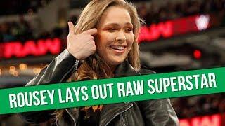 Ronda Rousey In WWE Raw Dark Segment | Bray Wyatt Reincarnation?