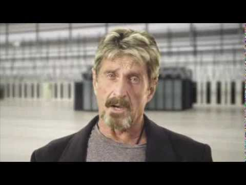 JOHN MCAFEE TELLS ALL / RAW
