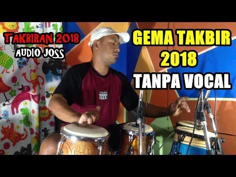 TAKBIRAN 2018 VERSI DANGDUT COVER KENDANG TOLE EKO AUDIO JOS