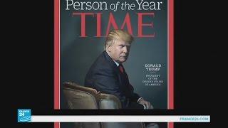 مجلة تايم الأمريكية تختار دونالد ترامب شخصية العام 2016