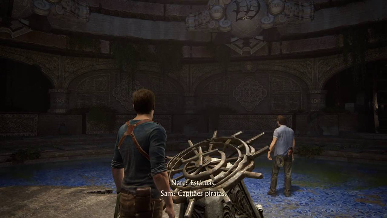 Uncharted 4 Chapter 12 Wheel Puzzle Solution Rotating Balls
