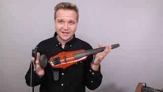 NS Design And Mezzo Forte Evo Electric Violins For Daniel