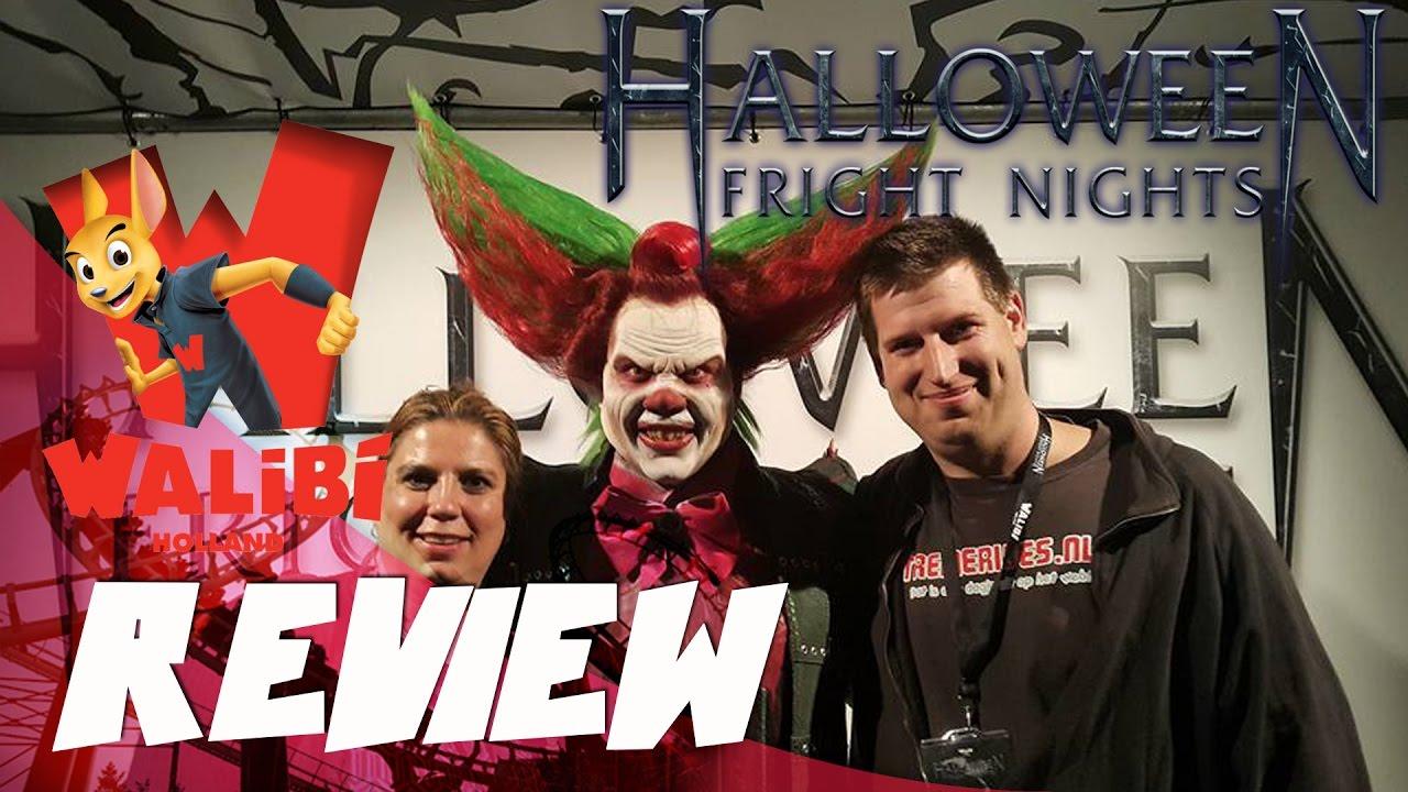 Halloween Fright Nights Recensie.Review Horrorfeest Walibi Fright Nights