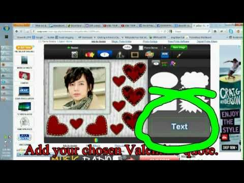 PiZap Tutorial - for Doworth Corp Love Month 2013
