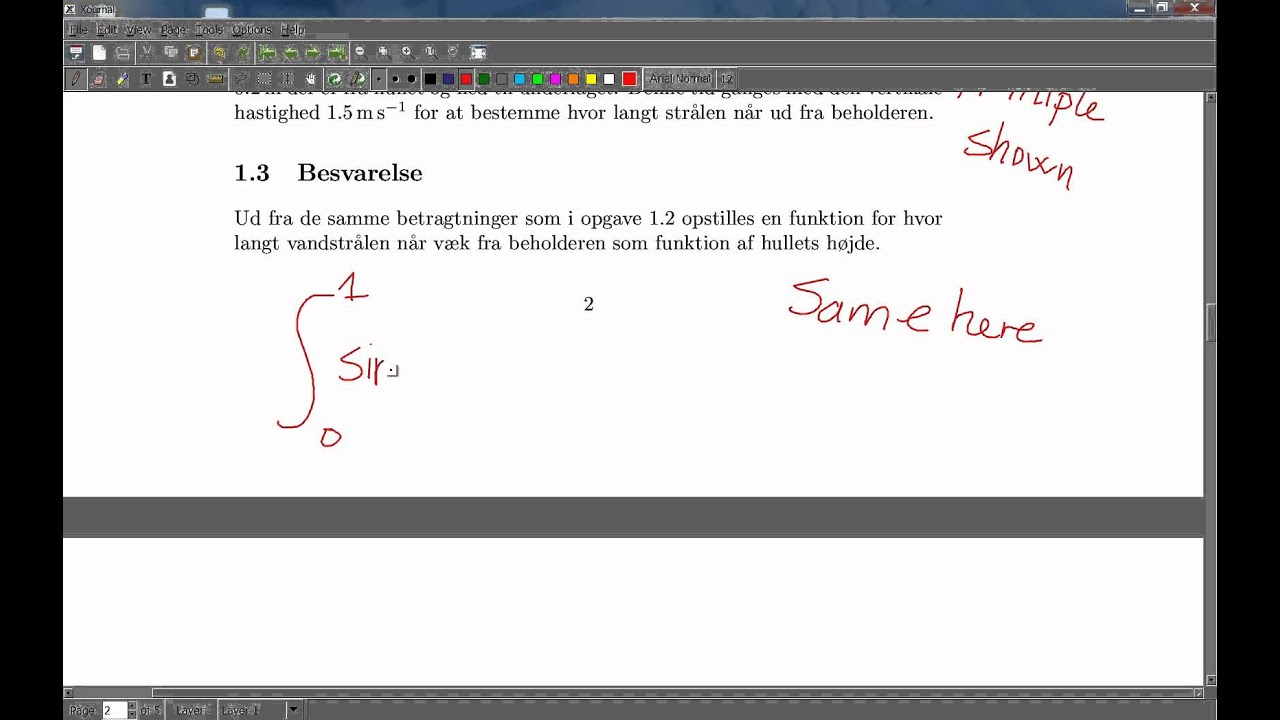 Xournal - Annotating pdf files in windows 7