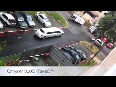 HD Chrysler 300C Limousine in Singapore Taken By Malaysian (MalaysiaSportsCar)