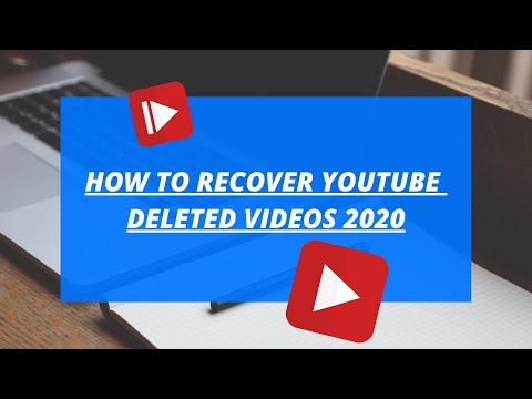 How To Recover Deleted YouTube Videos 2020 | Restore Deleted Videos 2020 | Restore Youtube Videos |