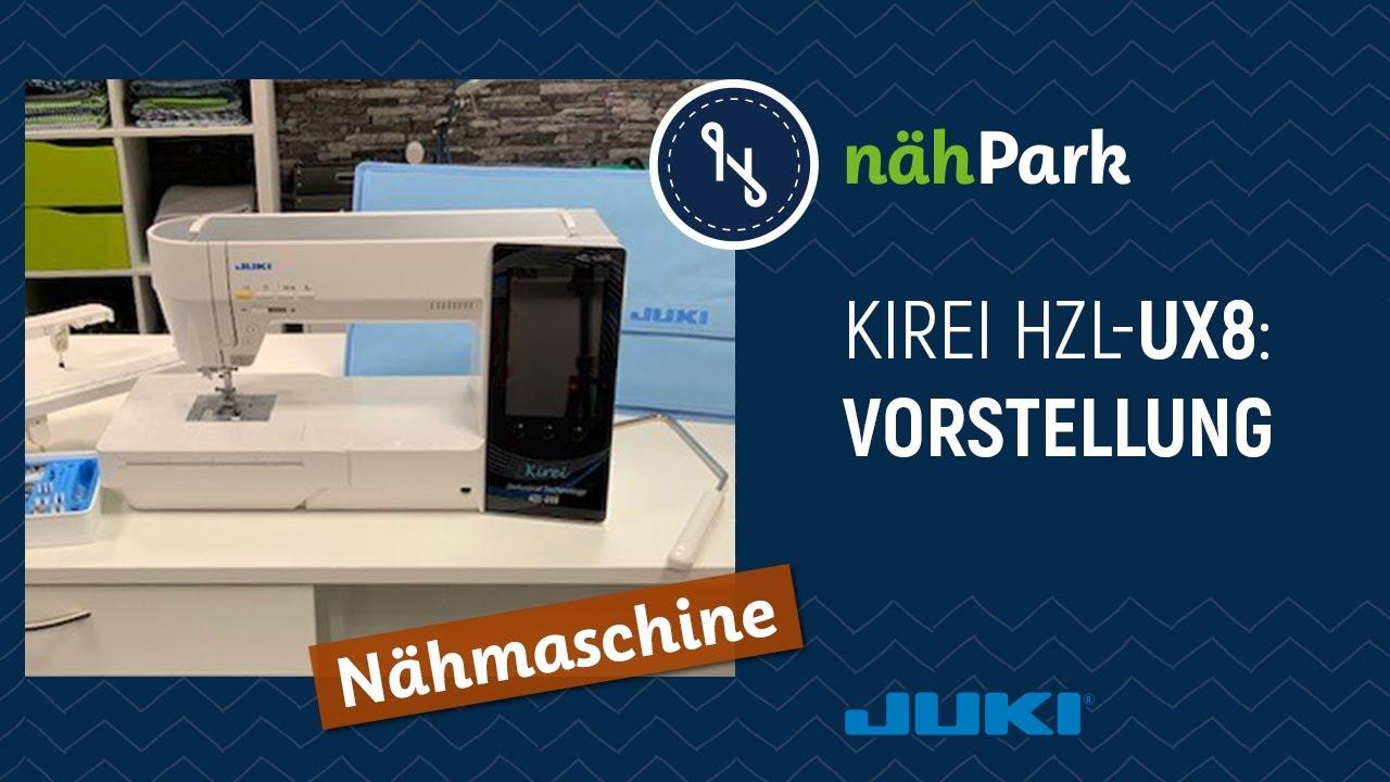 Download JUKI Nähmaschine Kirei HZL UX 8