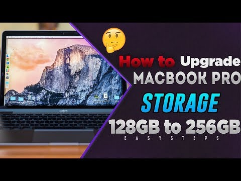 How To Upgrade MacBook Pro Storage 128GB To 256GB Flash Drive