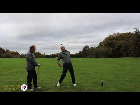 SENIORS GOLFERS WITH WEIGHT TRANSFER PROBLEMS? - SIMPLE SOLUTION FROM RYDER CUP GOLFER PETER DAWSON