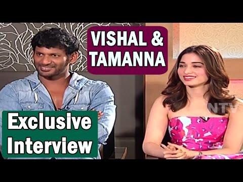 Vishal and Tamannaah Exclusive Interview || Okkadochadu Movie || Vanitha TV
