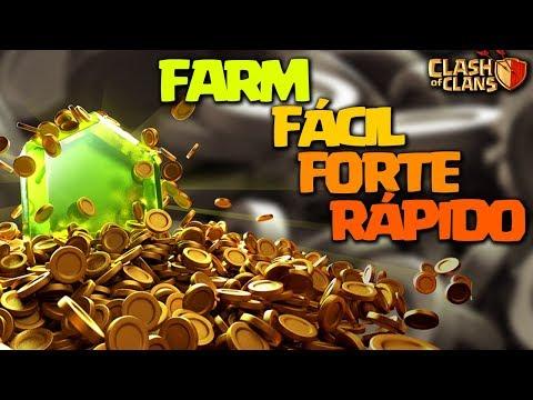 O FARM MAIS PODEROSO E FÁCIL PARA LIGAS ALTAS CLASH OF CLANS