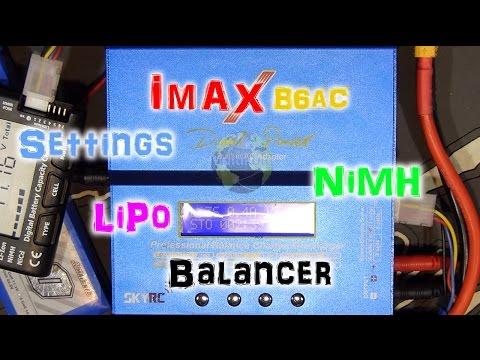 iMAX B6AC Hilfestellung - Tipps und Tricks | FULL HD | Deutsch
