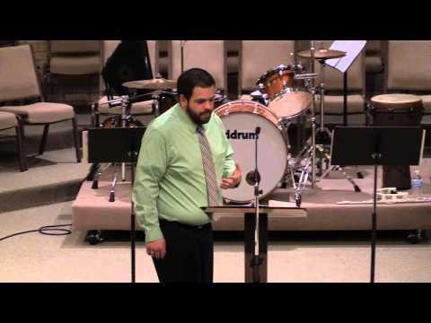 Pastor James Cameron. Love God - Mind. 1-18-15
