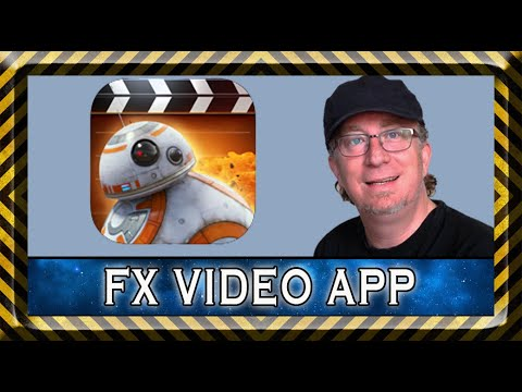 Action Movie FX app , tutorial and challenge. iPhone  iPad special effects app.