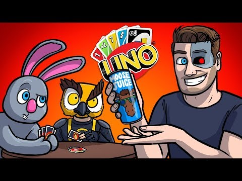 MOO'S NEW ENERGY DRINK SPONSORSHIP - UNO Funny Moments