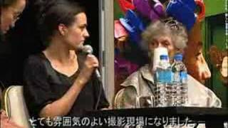 大阪ヨーロッパ映画祭2007年記録映像「ベティナ・オベルリ」