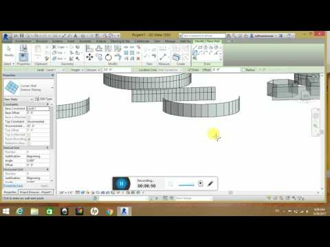 Tutorial 2 Wall, curtain walls