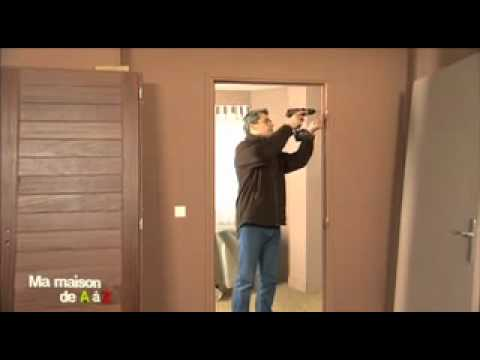R nover une porte d 39 int rieur ma maison de a z france 2 youtube - Kit renovation porte interieure ...