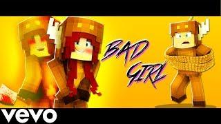 "♫ ""bad Girl"" - Minecraft Parody Of Billie Eilish Bad Guy Music Video ♫"