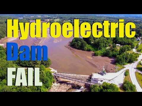When the Rubber Dam Failed - Highgate, Vermont