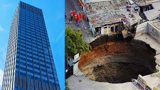 Top 10 Largest Sinkholes Caught on Camera
