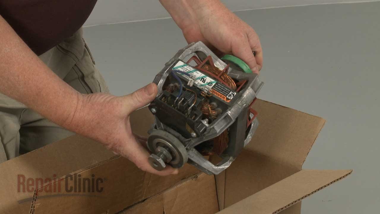 hight resolution of maytag dryer drive motor replacement wp2200376 youtube