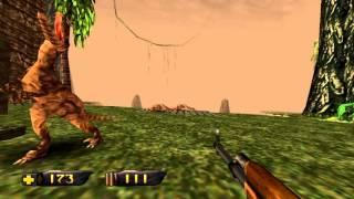 Turok: Dinosaur Hunter Remaster gameplay