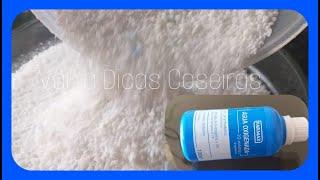 Sabão em Pó de Água Oxigenada Perfumado e sem Soda
