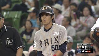 【プロ野球パ】一塁までの速さはイチロー並? ルーキー小田が俊足生かし猛打賞 2015/09/21 L-Bs
