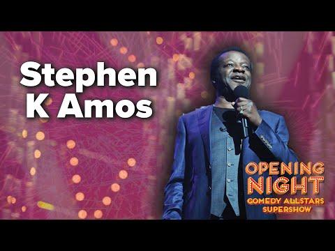 Stephen K Amos - 2015 Opening Night Comedy Allstars Supershow