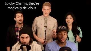 Pentatonix - Evolution of Lucky Charms (HD LYRICS)