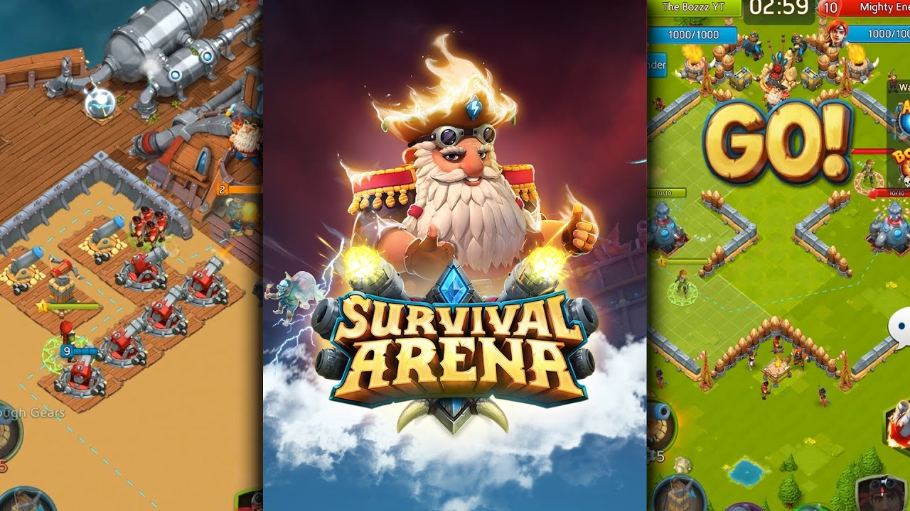 survival arena new competitive