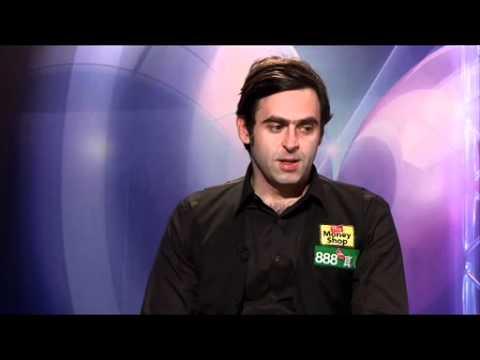 QF- RONNIE O'SULLIVAN vs JUDD TRUMP  Post-Match Interview  WELSH SNOOKER OPEN 2012