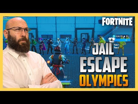 Jail Escape Olympics in Fortnite Creative | Swiftor