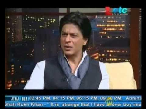 Shahrukh Khan talks about Yash Chopra