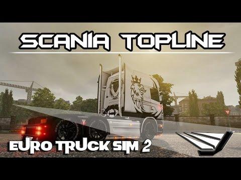 Euro Truck Simulator 2 - Scania Topline | To Iceland |