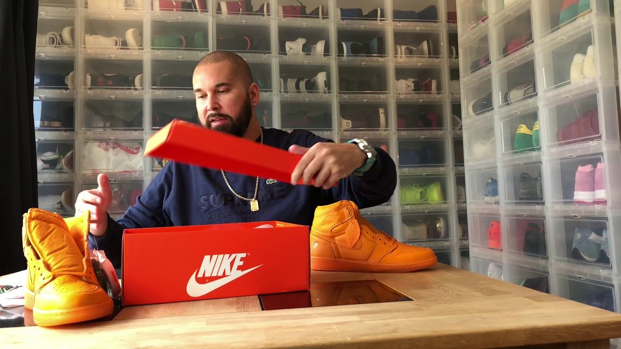Unboxing : Air Jordan 1 Retro HI OG G8RD Gatorade - Orange Peel (AJ5997-880)