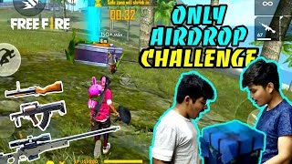 Free Fire Rank Match Airdrop Only Weapon Challenge Gone Wrong😶 || Face Cam -TwoSide Gamers