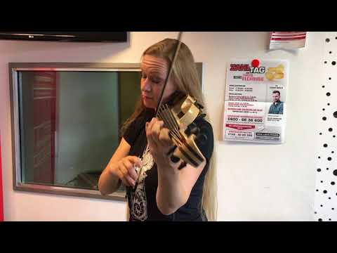 ALLY THE FIDDLE - Catharsis @107.7 Radio Hagen