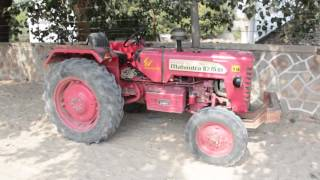 Tractors uses by Villagers in Village of Rajasthan,India.Indian Farmers.Bhinmal.भीनमाल.Tractor