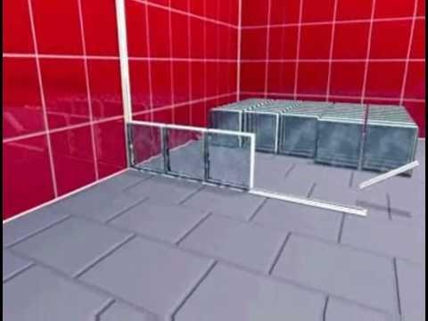 Montage briques de verre en syst me block lock youtube for Montage carreaux de verre
