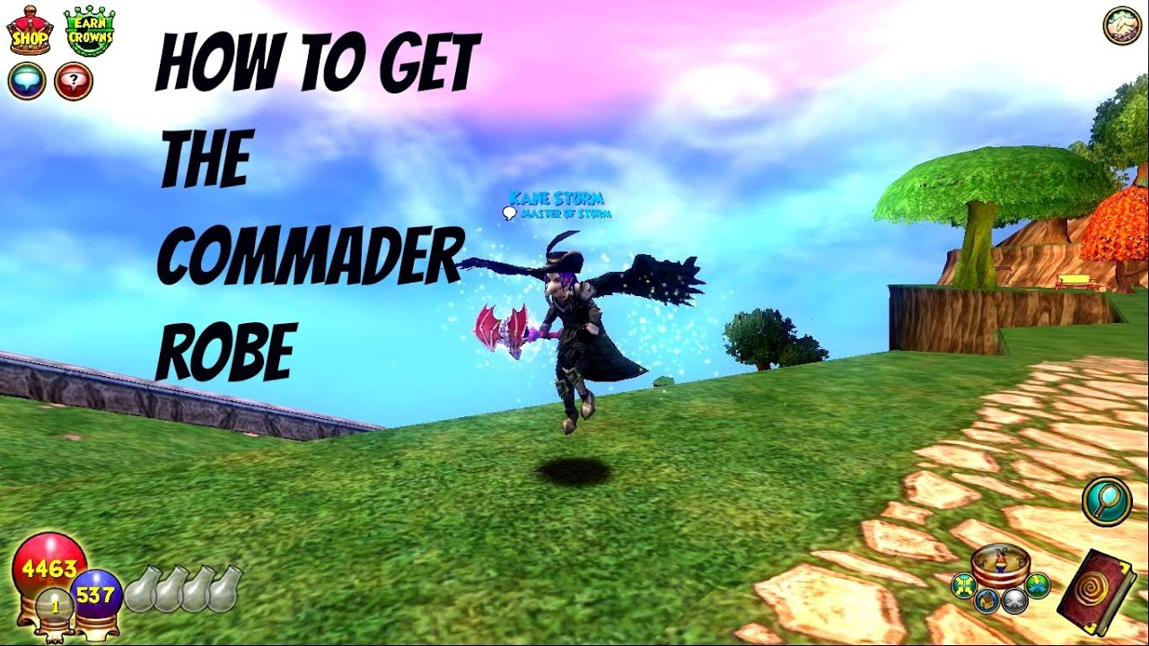 Commander Or The Get To How Tickets Robe Wizard101 Without Ranking W2Hb9eEDIY