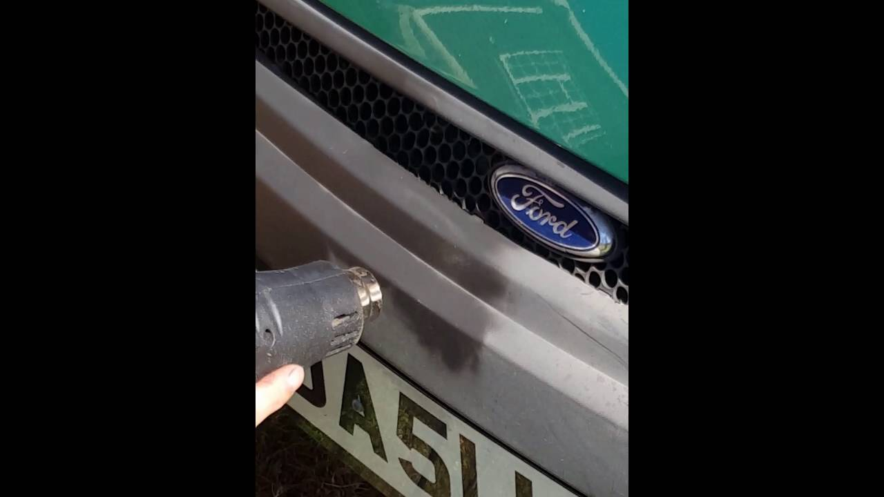 How To Restore Old Faded Plastic On A Car Diy Fix Youtube