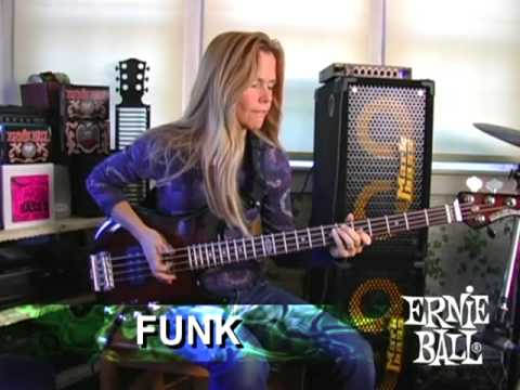 Molly Pauken & The Ernie Ball Music Man Sterling Bass Guitar