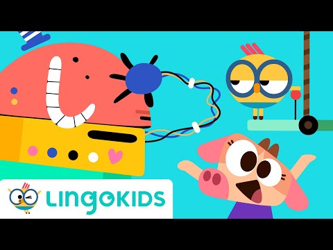 The Robot Contest - Cartoons For Kids - Full Episode  | Lingokids